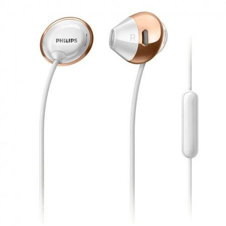 Philips Flite Hyprlite earbuds with mic white